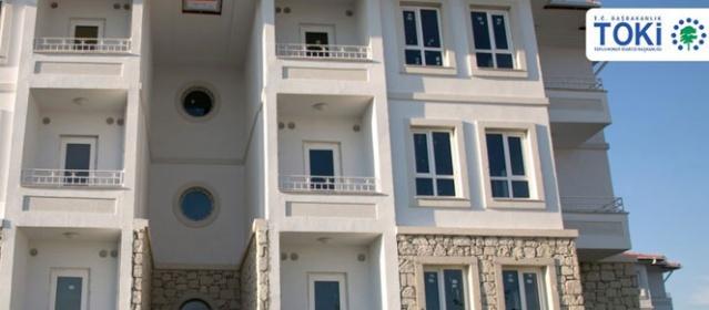 TOKİ'den evi olmayana ucuz konut - 269 liradan başlayan taksitlerle ev
