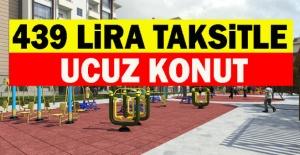 TOKİ'den 15 Bin TL Peşinat, 439 Lira Taksitle Ucuz Konut