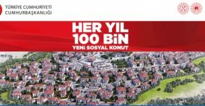 TOKİ'nin 100 bin sosyal konut projesine başvuru E-Devlet'ten nasıl yapılır?