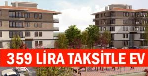 TOKİ'den 359 liradan başlayan taksitlerle ucuz konut fırsatı