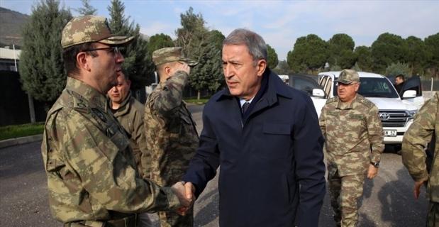 Akar, Güler ve Fidan'dan sınır hattında kritik toplantı