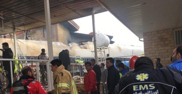 Uçaktaki 15 kişiden 14'ü öldü