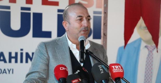 """Çavuşoğlu: """"PKK'nın izni olmasa bir adım atamaz"""""""