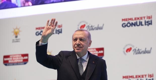 """Cumhurbaşkanı Erdoğan: """"CHP geleneğinde sandıkta hile adeta bir tarzı siyasettir"""""""