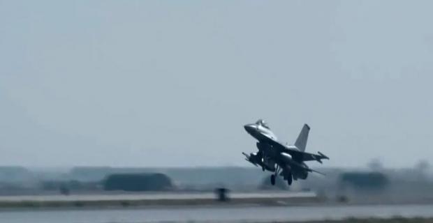 F-16'ları koruma sistemi testlerden başarıyla geçti