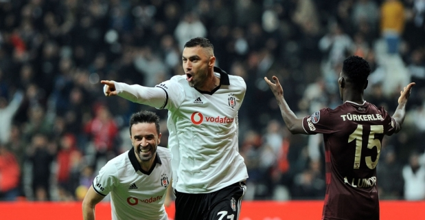 Beşiktaş Göztepe'yi tek golle geçti