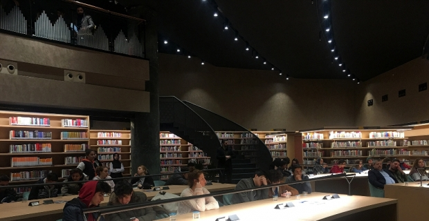 İstanbul'un en büyük Millet Kıraathanesi Başakşehir'de açıldı