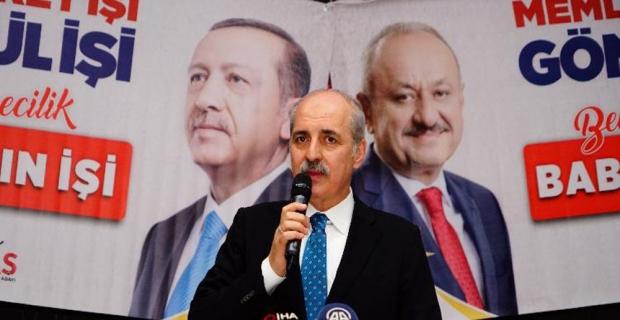 """Kurtulmuş: """"Türkiye ne Amerika'nın ne Rusya'nın kulu kölesi olacak bir ülke değil"""""""