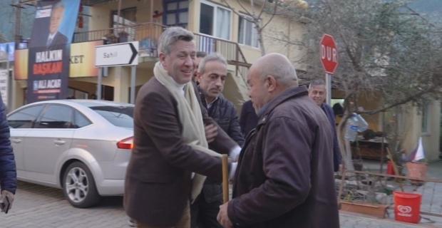 Metin Şentürk'ten sürpriz ziyaret