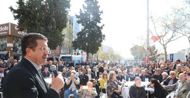 Zeybekci'den suya yüzde 50 indirim sözü