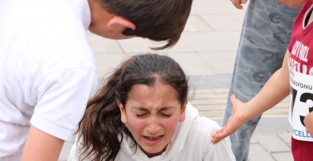 Aldığı sonuç karşısında gözyaşlarına boğuldu