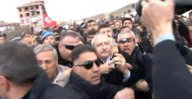 Kılıçdaroğlu'na saldırı olayının faili Çubuk Adliyesine getirildi