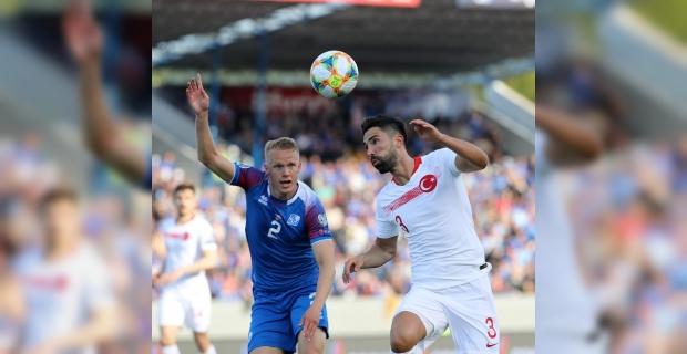 2020 Avrupa Futbol Şampiyonası Elemeleri: İzlanda: 2 - Türkiye: 1 (Maç sonucu)