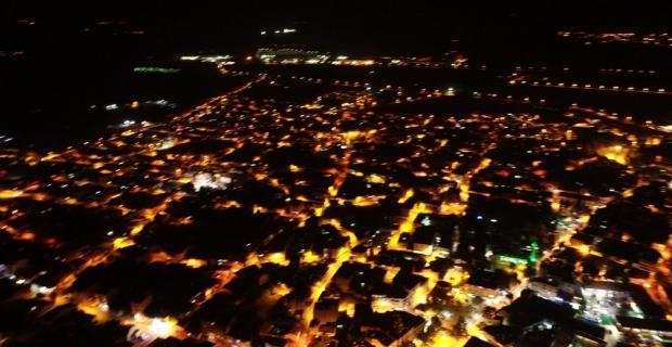 Osmanlı'nın ilk başşehri havadan görüntülendi