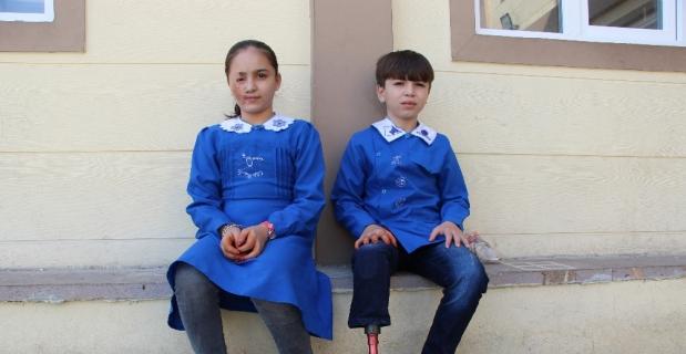 Luceyn ve Ömer'in yüzü Türkiye'de güldü