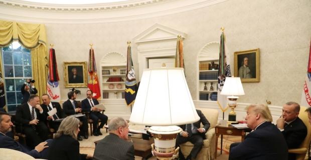 """ABD Başkanı Trump: """"Çok harika ve verimli bir görüşme gerçekleştirdik"""""""