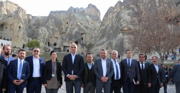"""Bakan Ersoy: """"Kapadokya Alan Başkanlığı bölgeyi daha çok koruyacak"""""""