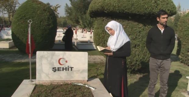 HDP önünde evlat nöbeti tutan ailelerden Kara Şehitliği'ne ziyaret