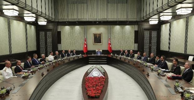 Kritik MGK toplantısı sona erdi