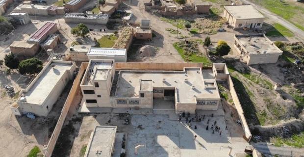 """""""PKK/YPG'nin tahrip ettiği okullar diğer ilgili kurum ve koordineli olarak incelemeler sürüyor"""""""