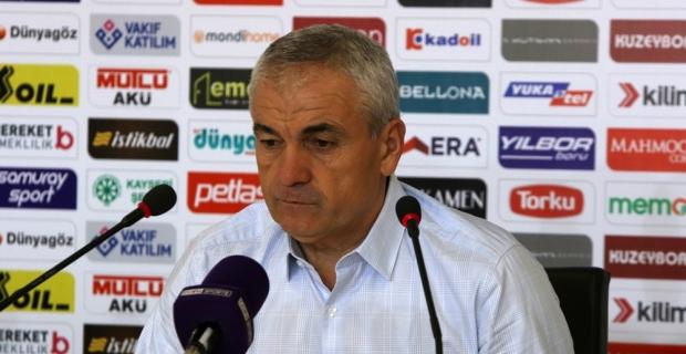"""Rıza Çalımbay: """"Futbolcular oyun disiplininden kopmadı"""""""