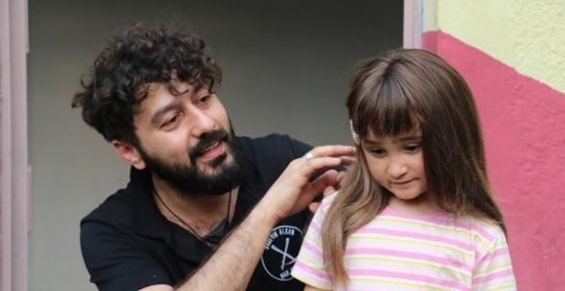 Saç hücreleri yanan küçük kızın hayallerini gerçekleştirdi