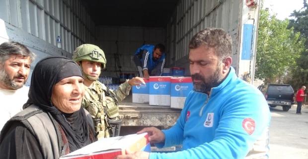 Şanlıurfa'dan sınır ötesine insani yardım