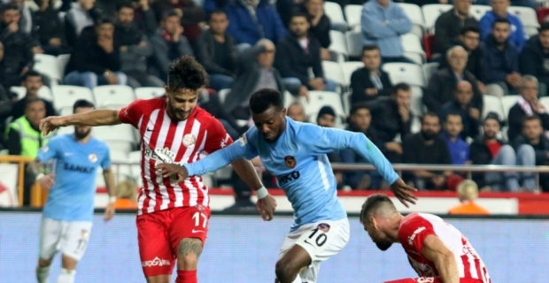 Süper Lig: Antalyaspor: 1 - Gaziantep FK: 1 (Maç sonucu)