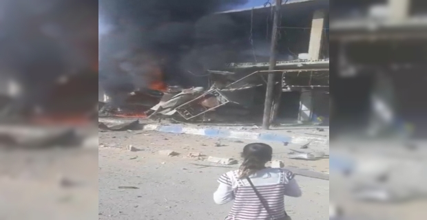 Tel Abyad'ta bombalı saldırı: 8 ölü, 20'den fazla yaralı