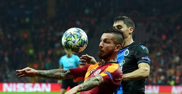 UEFA Şampiyonlar Ligi: Galatasaray: 1 - Club Brugge: 1 (Maç sonucu)