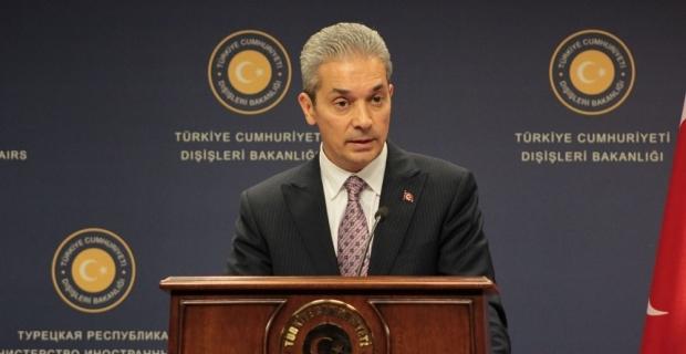Aksoy'dan EastMed Doğalgaz Boru Hattı Projesi'ne ilişkin açıklama