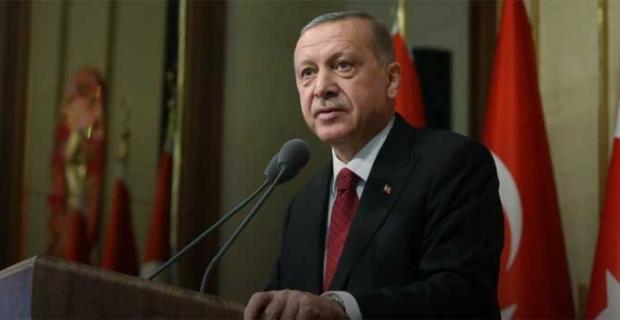 """Cumhurbaşkanı Erdoğan: """"Sözde 'Yüzyılın Planı' bölgede barış ve huzuru tehdit eden bir hayalden başka bir şey değildir"""""""