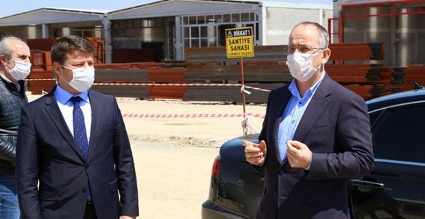 """TOKİ Başkanı Bulut: """"Şantiyelerde gerekli tedbirleri alarak faaliyetlerimizi devam ettiriyoruz"""""""