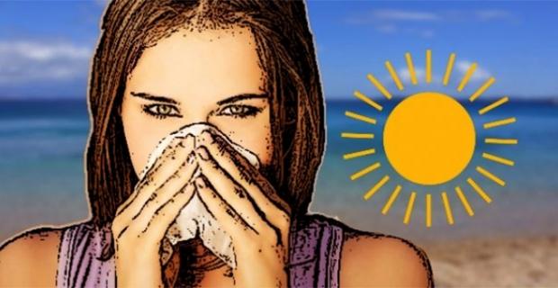 Ağızda kuruluk ve halsizlik güneş çarpmasını işaret ediyor