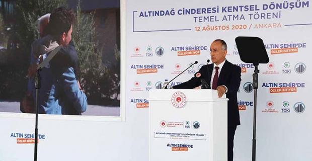 """TOKİ Başkanı Ömer Bulut: """"TOKİ 1 milyonuncu konut hedefine ilerliyor"""""""