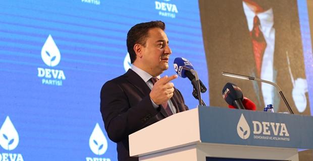 """DEVA Partisi Genel Başkanı Ali Babacan: """"Ülkeyi korkuyla yönetmeye çalışıyorlar"""""""