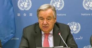 BM Genel Sekreteri Guterres'ten Türkiye açıklaması