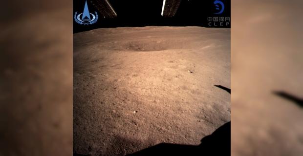 Çin'in uzay aracı Ay'ın karanlık yüzünde