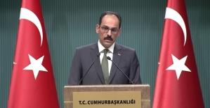"""Cumhurbaşkanlığı Sözcüsü Kalın: """"McGurk'un Türkiye'ye karşı suçlamaları anlamsız"""""""