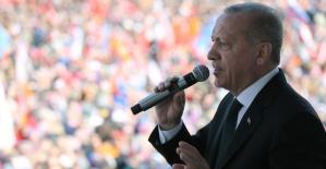 """Cumhurbaşkanı Erdoğan: """"Satılan birisi varsa sensin"""""""