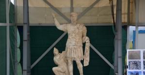 Denizli'de 1906 yıllık heykel Laodikya'da bulundu