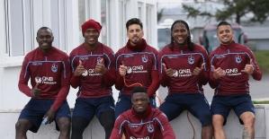 Trabzonspor'un yabancıları rekor kırdı