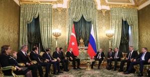 """Cumhurbaşkanı Erdoğan: """"Rusya Türkiye'nin ticaret ortakları arasında 3'üncü sırada"""""""