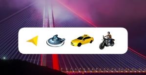 Trafikte yönleri 'taksi', 'motosiklet' veya 'ufo' ikonları gösterecek