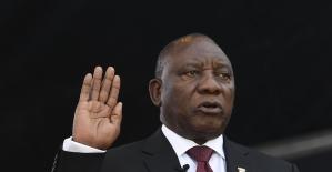 Güney Afrika'da yeniden seçilen Ramaphosa görevine başladı