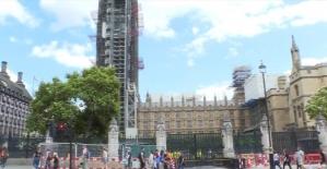 160 yaşına giren dünyaca ünlü saat kulesi BigBen'in restorasyonu sürüyor