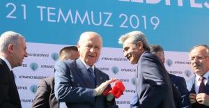 """Bahçeli: """"HDP, terör örgütünün hain bir yüzüdür"""""""