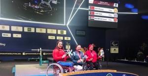 Sibel Çam, Para Halter'de dünya ikincisi oldu