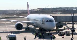 THY'nin 'Rüya' uçağı, şehit Eren Bülbül için Trabzon'a uçtu