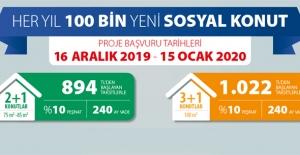 İşte TOKİ'nin 81 ilde 100 bin sosyal konut projesi için başvuru şartları ve tarihleri